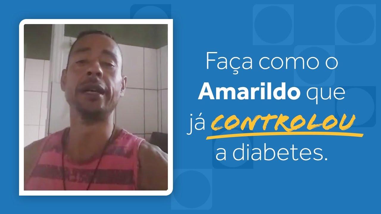 Diabetes Controlada - Depoimento de Amarildo   Dr Rocha
