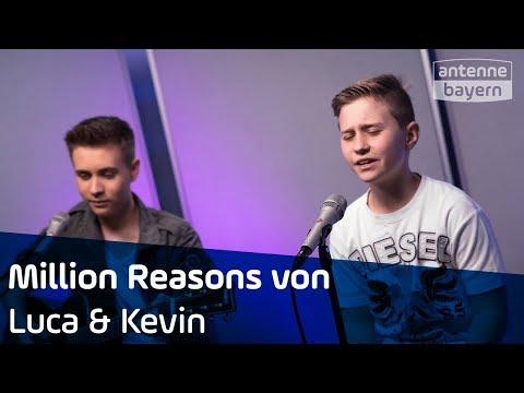 Million Reasons | Lady Gaga Cover | Luca & Kevin | ANTENNE BAYERN