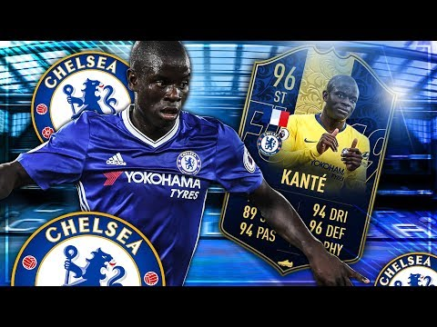 FIFA 19: TOTY KANTE ST SBB 🔥 Squadbuilder Battle vs Gamerbrother