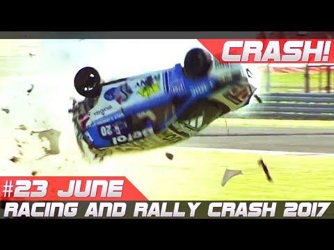 Racing and Rally Crash Compilation Week 23 June 2017