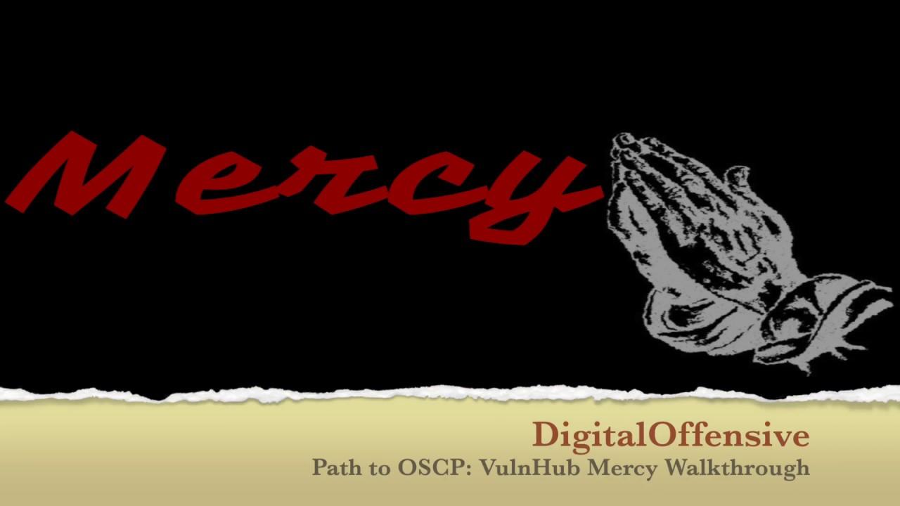 Path to OSCP: VulnHub Mercy Walkthrough