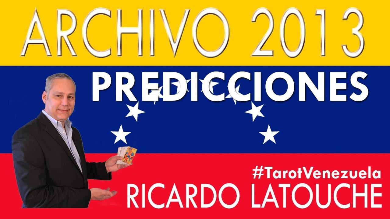 Predicciones de Venezuela 30 de mayo de 2013 - Lectura del Tarot - Ricardo Latouche Tarot
