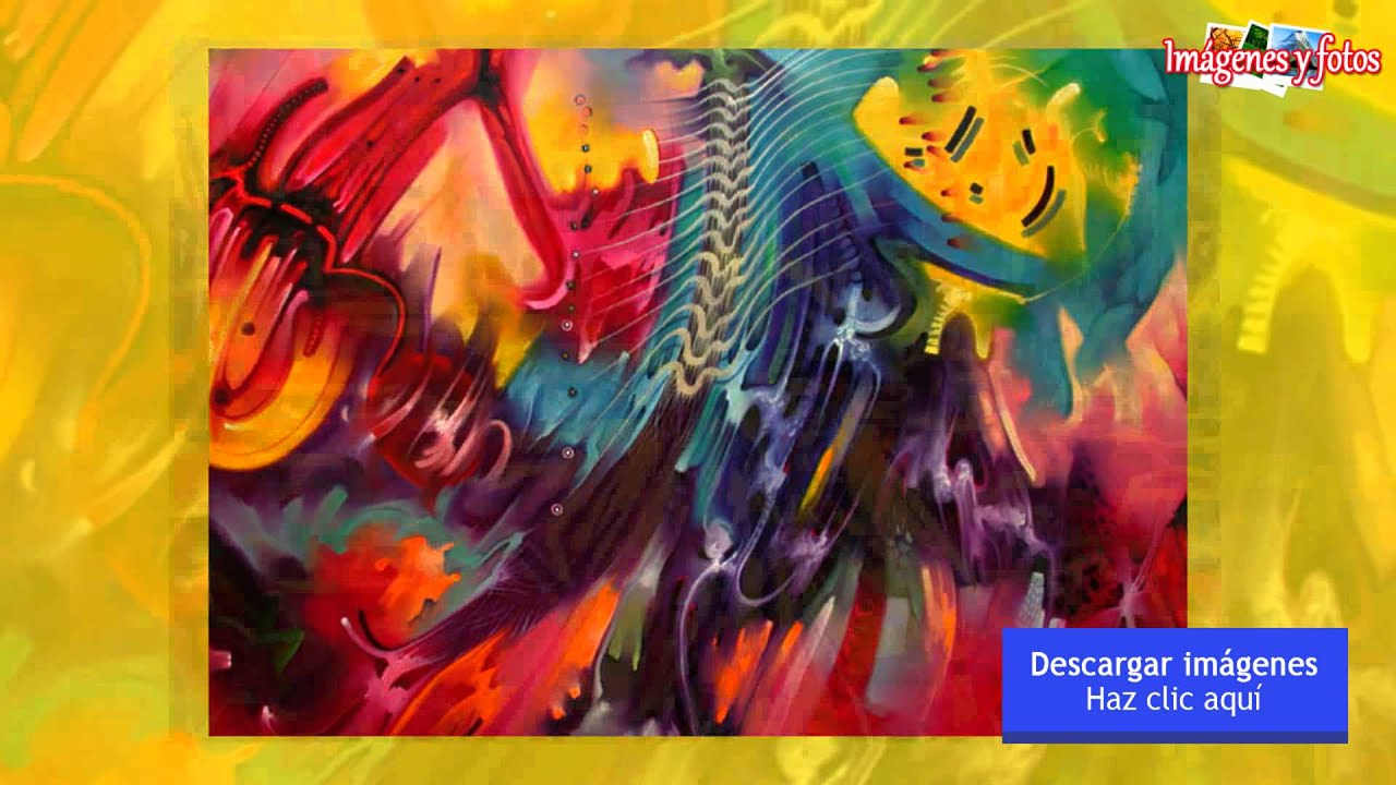 Im genes de arte abstracto youtube for Imagenes de cuadros abstractos grandes