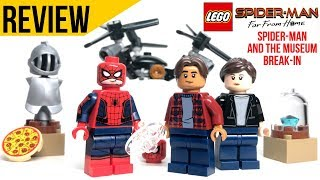 LEGO Spider Man Far From Home MINIFIGURE PACK REVIEW