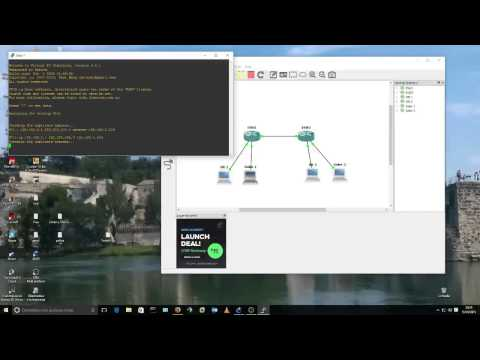 Basic VLAN implementation with GNS3 - YouTube