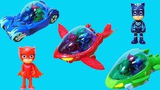 睡衣小英雄的三輛超酷炫的汽車玩具