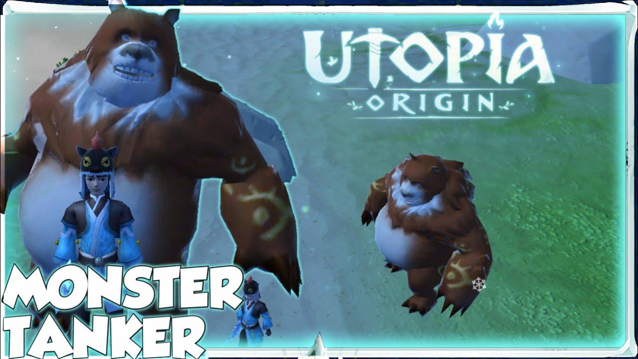 Brown WarBear Pet   How to Tame   Utopia:Origin #1