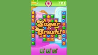 Candy Crush Jelly Level 156  -  no boosters