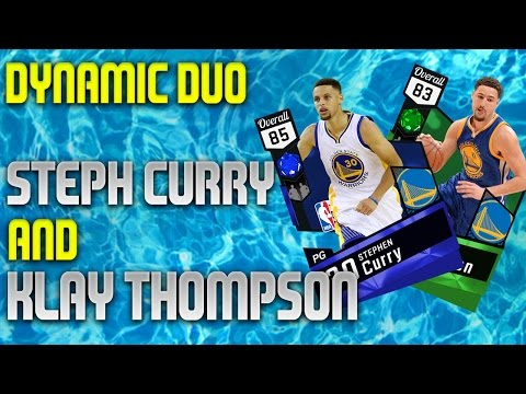 NBA 2K17 MyTeam - Splash Brothers! Steph...