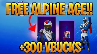 *FREE* HOW TO GET KOREAN ALPINE ACE FOR FREE! IN FORTNITE BATTLE ROYALE! (NEW FREE SKIN)