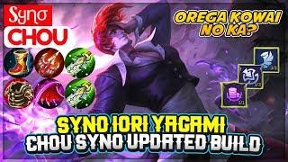 Syno Iori Yagami, Chou Syno Updated Build [ Sყɳσ Chou ] Mobile Legends