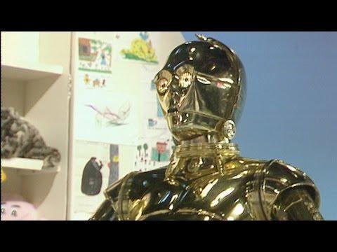 C3PO meets Noel Edmonds - Star Wars at the BBC: Exclusive - BBC iPlayer