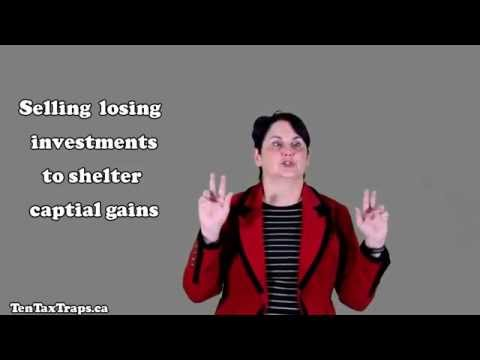 Tax Strategy #6-Selling Losing Investments to Shelter Capital Gains