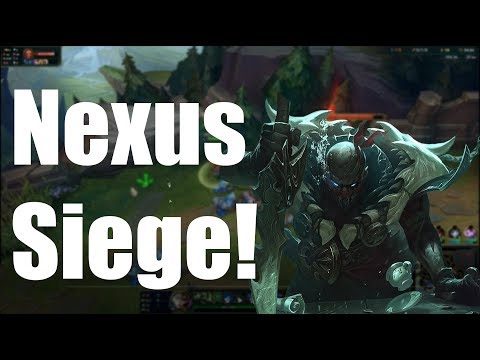Nexus Siege Funny moments- League of Legends