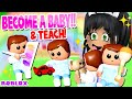 *NEW* BECOME a BABY & TEACH!! 👶 Club Roblox Roleplay Update