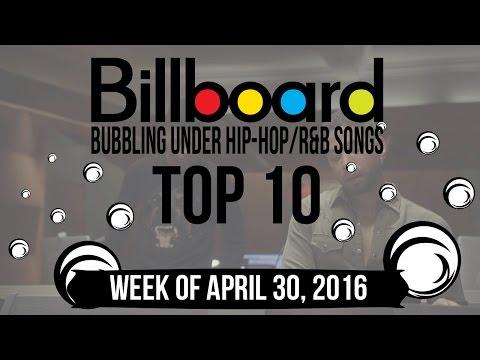 Top 10 - Billboard Bubbling Under Hip-Hop/R&B Songs | Week of April 30, 2016 | Charts
