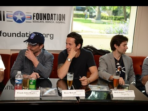 Ross Owen's Video Diary  Band Of Brothers Reunion  Normandy 2015 1 of 2