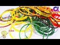 how to reuse old waste bangles to make awesome things | Best out of waste | Artkala 342