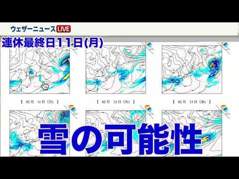 三連休 関東の天気