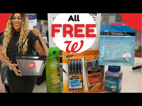 Walgreens Couponing   ALL DIGITAL COUPONS   ALL FREE COUPON SHOPPING HAUL THIS WEEK 8/1-8/6