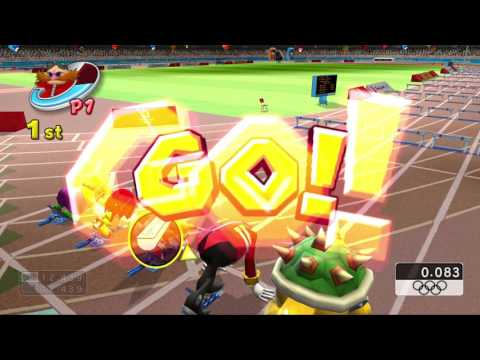 Mario & Sonic at the Olympic Games (Wii) Circuit Mode Advanced Class