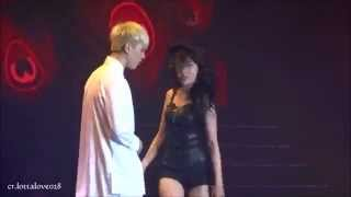 140830 JYP Nation ONE MIC Concert Hong Kong Sunmi 24Hours GOT7 Yugy...