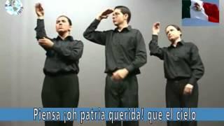 Himno Nacional Mexicano LSM OFICIAL