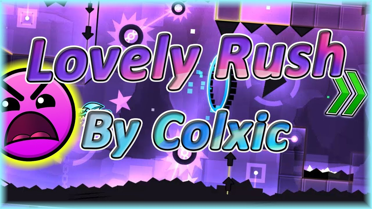 Download Lovely Rush (By Colxic)   Geometry Dash 2.11