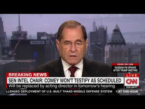 CNN Exposes Democrat Jerry Nadler's Hypocrisy On Firing Comey