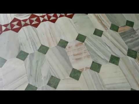Granite Stone Pattern Floor Design