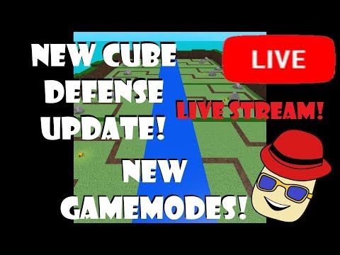 Cube Defense Roblox Roblox Vip Servers New Update Tonight Cube Defense Live Stream By Jengle12