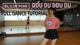 BLACKPINK - '뚜두뚜두 (DDU-DU DDU-DU)' Dance Tutorial   Full w Mirror [Charissahoo]