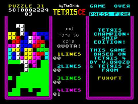Tetris CE (Championship Edition) For ZX Spectrum