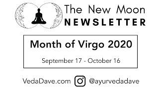 New Moon Newsletter - Virgo 2020
