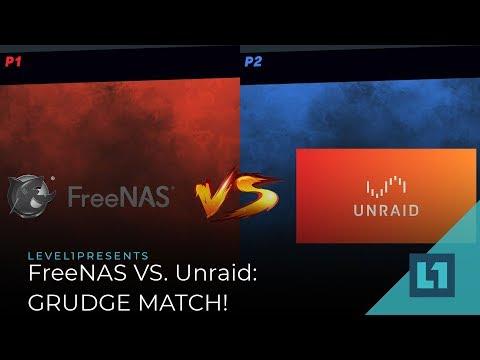 FreeNAS vs. Unraid: GRUDGE MATCH!