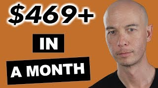 Five Figure Niche Site Student Hits $469 in a month - Ben