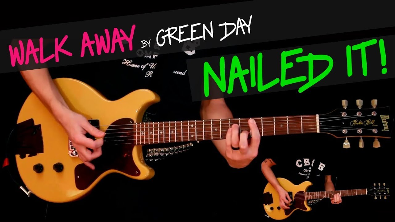 Walk Away Green Day Cover By Gv Billie Joes Studio Part