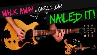 Walk Away - Green Day cover by GV (Billie Joe`s studio part) + chords