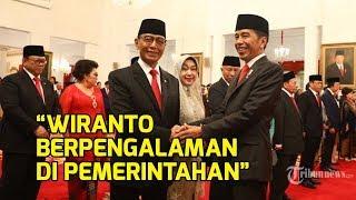 Wiranto Ketua Wantimpres, Jokowi: Pak Wiranto Track Record dan Pengalamannya Panjang di Pemerintahan