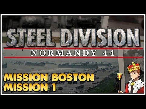 Let's Play Steel Division: Normandy 44 Kampagne - Mission Boston #001 [Let's Play/Deutsch/1440p]