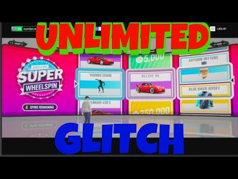Forza 4 Unlimited Super Wheel Spins GLITCH ***Patched***