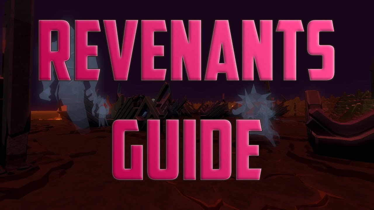 Runescape revenants guide