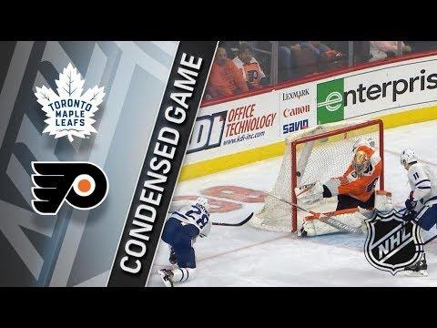 Toronto Maple Leafs VS Philadelphia Flyers January 18, 2018 HIGHLIGHTS HD