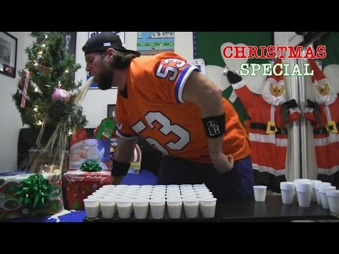 Drinking 96 Shots of Eggnog Doesn't Go As Planned (L.A. BEAST CHRISTMAS SPECIAL)