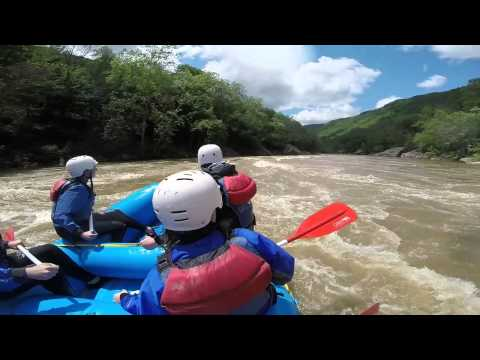 Whitewater Rafting In West Virginia [Lower New River]