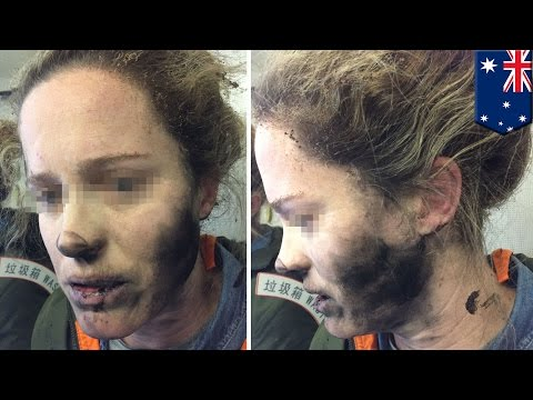 Thumbnail: Exploding headphones: Woman's headphones explode on Beijing-Melbourne flight - TomoNews