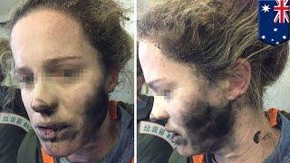 Exploding headphones: Woman's headphones explode on Beijing-Melbourne flight - TomoNews