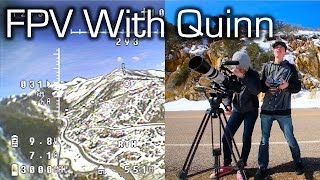 Quinn Flies FPV on a Very Windy Day - RCTESTFLIGHT -