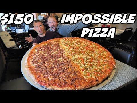 UNDEFEATED 21,000 CALORIE PIZZA CHALLENGE! THE BIGGEST PIZZA CHALLENGE IN NEW YORK!  Man Vs Food