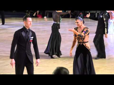 2015 Ohio Star Ball - Peter & Alexandra Perzhu - American Smooth Semifinal - 4k
